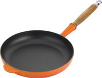 Le Creuset Poêle à Frire en Fonte 28 cm Orange-rouge