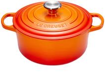 Le Creuset Cocotte Ronde 20 cm Orange-rouge