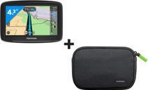TomTom Start 42 West Europa + Case