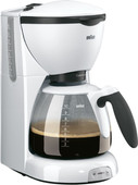 Braun CafeHouse Pure Aroma Deluxe KF520/1 Blanc