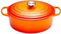 Le Creuset Cocotte Ovale 29 cm Orange-Rouge