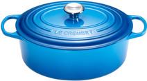 Le Creuset Oval Dutch Oven 31cm Marseille Blue