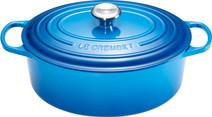 Le Creuset Faitout Oval 29 cm Bleu Marseille