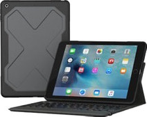 ZAGG Rugged Messenger 7 Col iPad (2017) Toetsenbord Hoes AZERTY