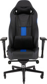 Corsair T2 Road Warrior Gaming Chair Zwart/Blauw