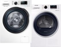 Samsung WW91J6600CW Eco Bubble + Samsung DV70M5020QW/EN
