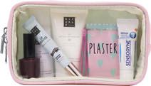 SUITSUIT Fabulous Fifties Toiletry Bag Pink Dust Transparent