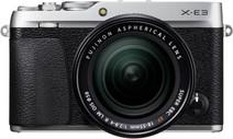 Fujifilm X-E3 Argent + XF 18-55 mm f/2.8-4.0 R LM OIS