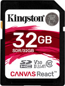 Kingston SDHC Canvas React 32 Go 100 MB/s