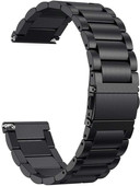 Just in Case Fitbit Versa Bracelet de Montre en Inox Noir
