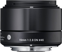Sigma 19mm f/2.8 DN ART Micro FT Black