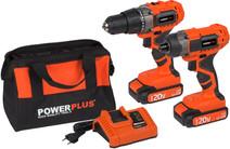 Ensemble combiné Powerplus Dual Power POWDP1550