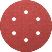 Bosch Disque abrasif 150 mm G60, G120, G240 (6x)