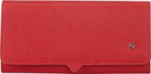 Samsonite Miss Journey SLG Wallet 14CC Coin Scarlet Red