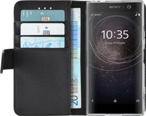 Azuri Wallet Magnet Sony Xperia XA2 Book Case Black