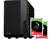 Synology DS218+ 24TB