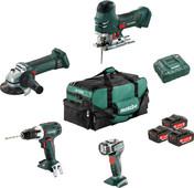 Metabo Combiset: Bouw & Renovatie - 4 machines