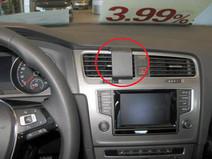 Brodit ProClip Volkswagen Golf VII from 2013 Central Confirmation