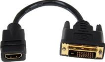 Startech Câble Adaptateur Video HDMI vers DVI-D Dual Link 20 cm