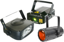 Beamz Light Package 4: Moon+LaserR/G+ 150