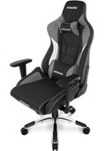 AKRacing, Gaming Chair Master Pro - PU Leather Grijs