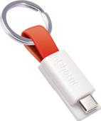 InCharge USB-C Kabel 3,8cm Rood