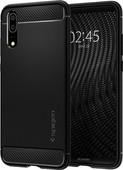 Spigen Rugged Amor Coque Arrière Huawei P20 Noir