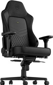 noblechairs HERO Genuine Leather Gaming Chair Black
