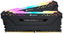 Corsair Vengeance RGB Pro 16GB DDR4 DIMM 3000 Mhz/15 (2x8GB) Black