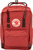 Fjällräven Kånken 13 '' Deep Red-Random Blocked
