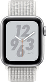 Apple Watch Series 4 40mm Nike+ Zilver Alu/Nylon Sportband