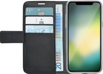Azuri Coque portefeuille magnétique pour iPhone Xr Noir