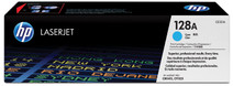 HP 128A Cyan LaserJet Toner (bleu) (CE321A)