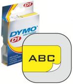 Dymo D1 Naamlabels Geel-Zwart (19 mm x 7 m) 5 Rollen