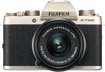 Fujifilm X-T100 Gold + XC 15-45mm OIS PZ