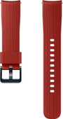 Samsung Bracelet en silicone pour Galaxy Watch 42 mm / Gear Sport Rouge