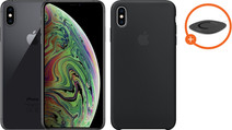 Apple iPhone Xs 64 GB Space Gray + Silicone Back Cover