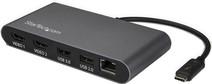 Convertisseur de câble StarTech Thunderbolt 3 4K 60Hz Dual HDMI