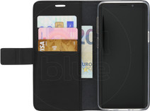 Azuri Wallet Magnetic Samsung Galaxy S9 Book Case Black