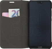 Azuri Booklet Ultra Thin Coque à rabat pour Huawei P20 Lite Noir