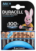 Duracell Ultra Power Piles AAA alcalines 8 pièces
