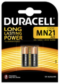 Duracell Specialty Pile alcaline MN21 12 V 2 pièces