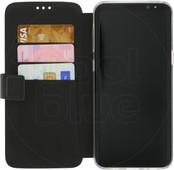 Azuri Coque à rabat portefeuille aimantée pour Samsung Galaxy S8 Plus Noir