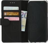 Azuri Coque à rabat portefeuille aimantée pour Samsung Galaxy S8 Noir