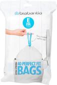 Brabantia Garbage bags Code E - 20 Liter (40 pieces)