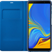 Samsung Galaxy A7 (2018) Wallet Book Case Blue