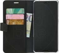Azuri Étui Portefeuille Magnétique Huawei P20 Pro Noir