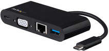 Startech Adaptateur USB-C 3.0 vers VGA et Ethernet