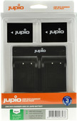Jupio Kit: 2x Batterie NP-W126S + Double Chargeur USB