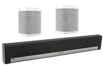 Sonos Playbar 5.0 + One (x2) White